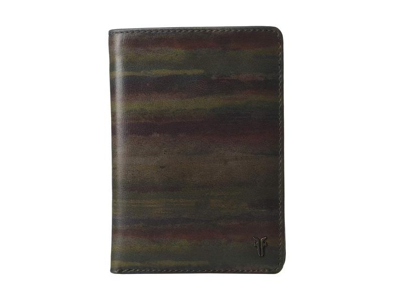 フライ メンズ 財布 アクセサリー Austin Passport Wallet Dark Multi
