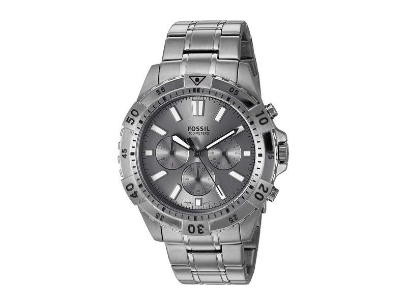 フォッシル メンズ 腕時計 アクセサリー Garrett Chronograph Watch FS5621 Smoke Stainless Steel
