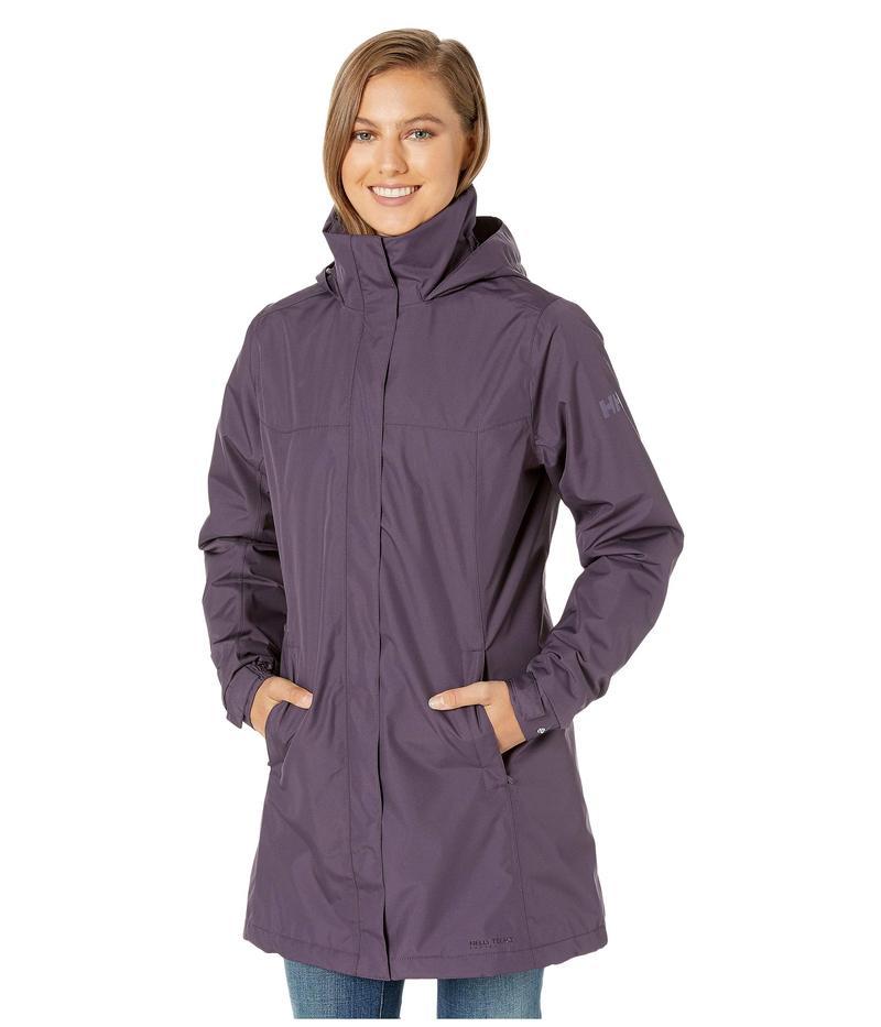 ヘリーハンセン レディース コート アウター Aden Insulated Coat Grey