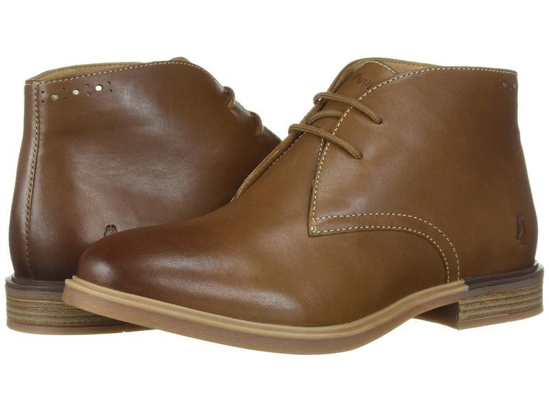 ハッシュパピー レディース ブーツ・レインブーツ シューズ Bailey Chukka Boot Dachshund Leather