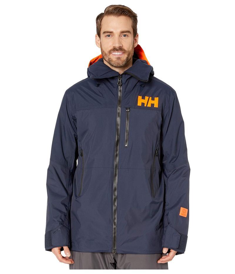 ヘリーハンセン メンズ コート アウター Straightline Lifaloft Jacket Navy