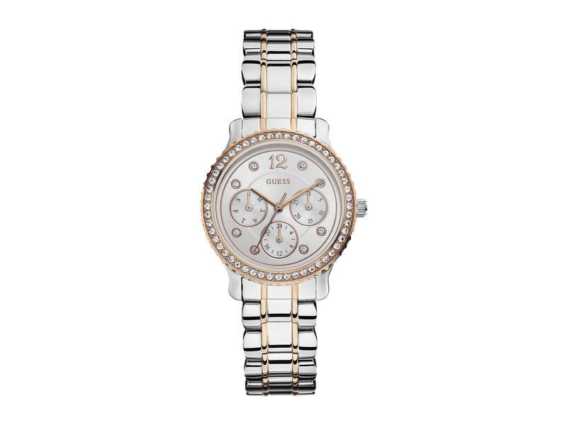 ゲス レディース 腕時計 アクセサリー W0305l3 Rose Gold/Silver