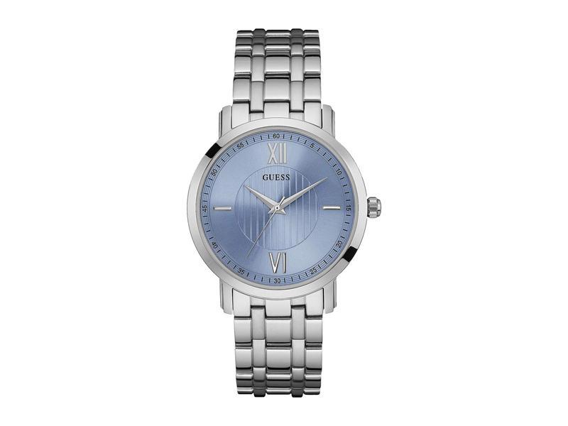 ゲス メンズ 腕時計 アクセサリー U0716G1M Silver/Blue