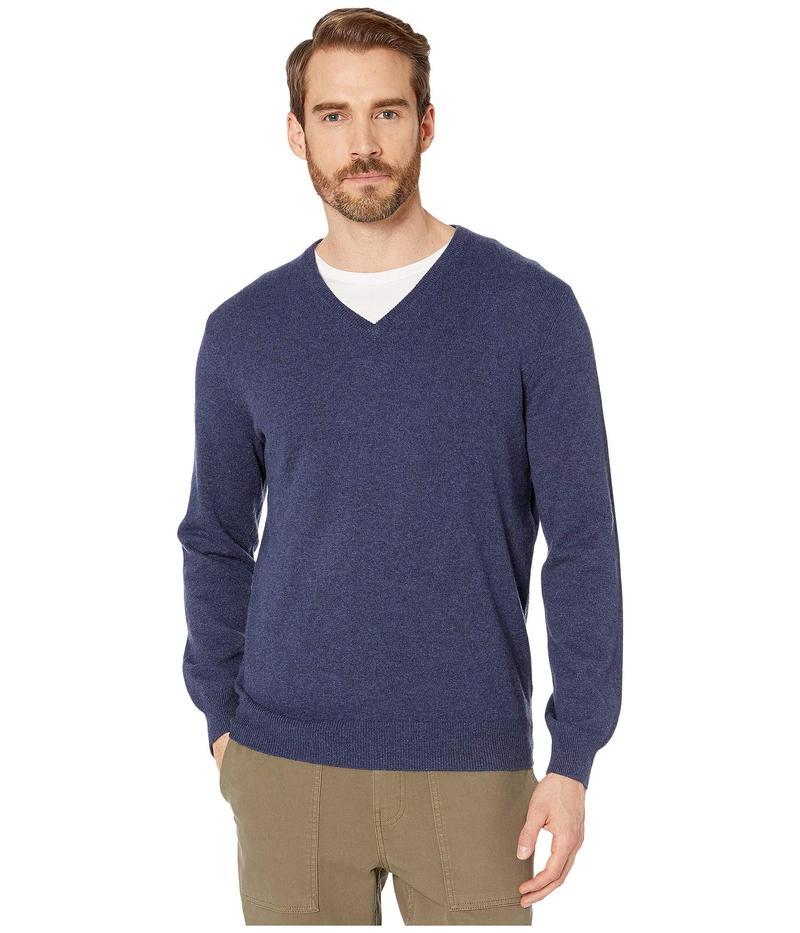 ジェイクルー メンズ ニット・セーター アウター Everyday Cashmere V-Neck Sweater Heather Shadow