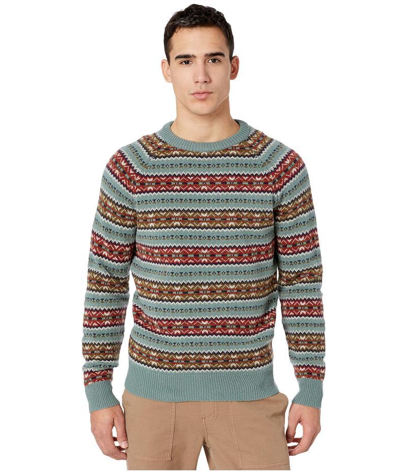 ジェイクルー メンズ ニット・セーター アウター Fair Isle Lambswool Crewneck Sweater Fair Isle Faded Bluegrass