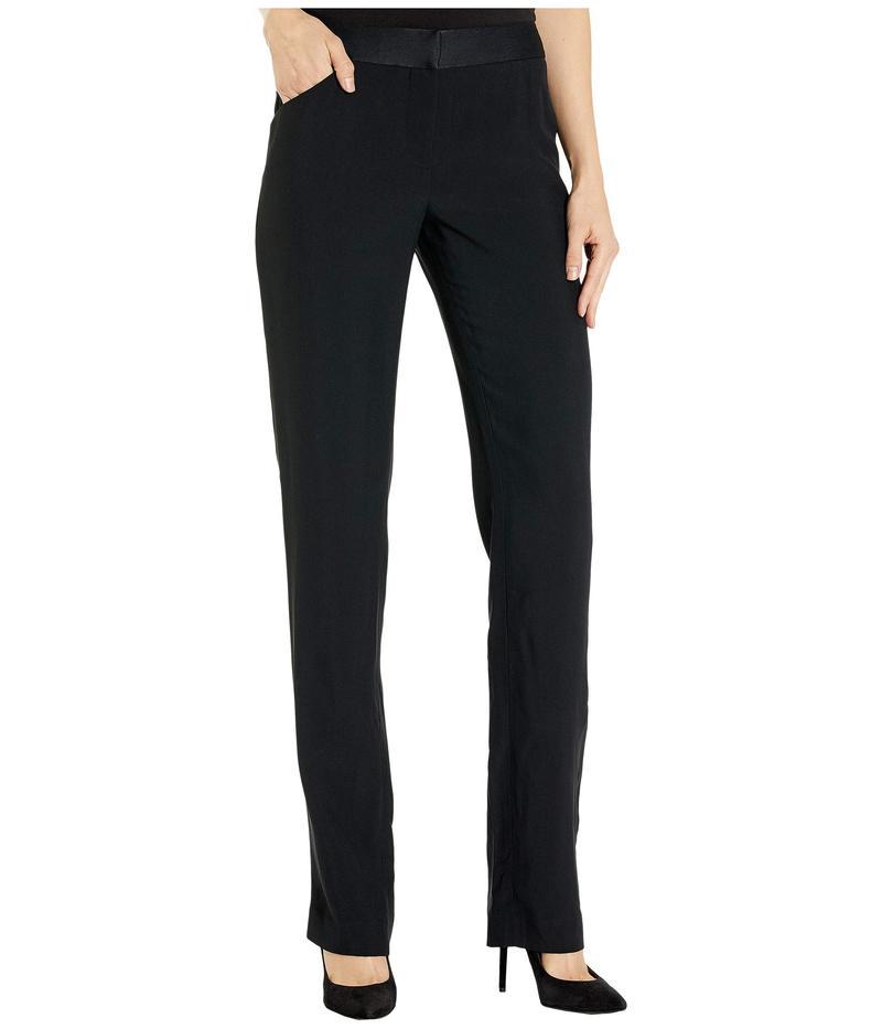 キキデモントパーネス レディース カジュアルパンツ ボトムス Tuxedo Pants Black