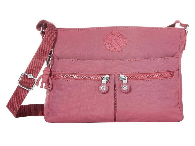 キプリング レディース ハンドバッグ バッグ New Angie Crossbody Bag Fig Purple
