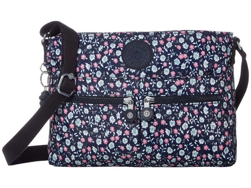 キプリング レディース ハンドバッグ バッグ New Angie Crossbody Bag Floral Rush