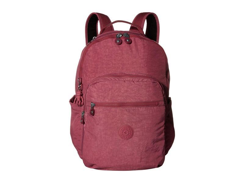 キプリング レディース バックパック・リュックサック バッグ Seoul Laptop Backpack Fig Purple