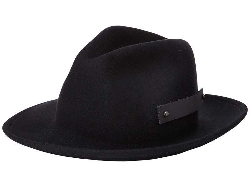 ベーリー オブ ハリウッド メンズ 帽子 アクセサリー Boley Black