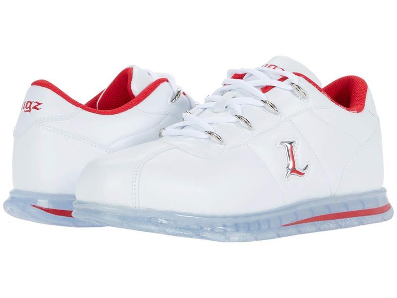 ラグズ メンズ スニーカー シューズ Zrocs Ice White/Mars Red/Clear