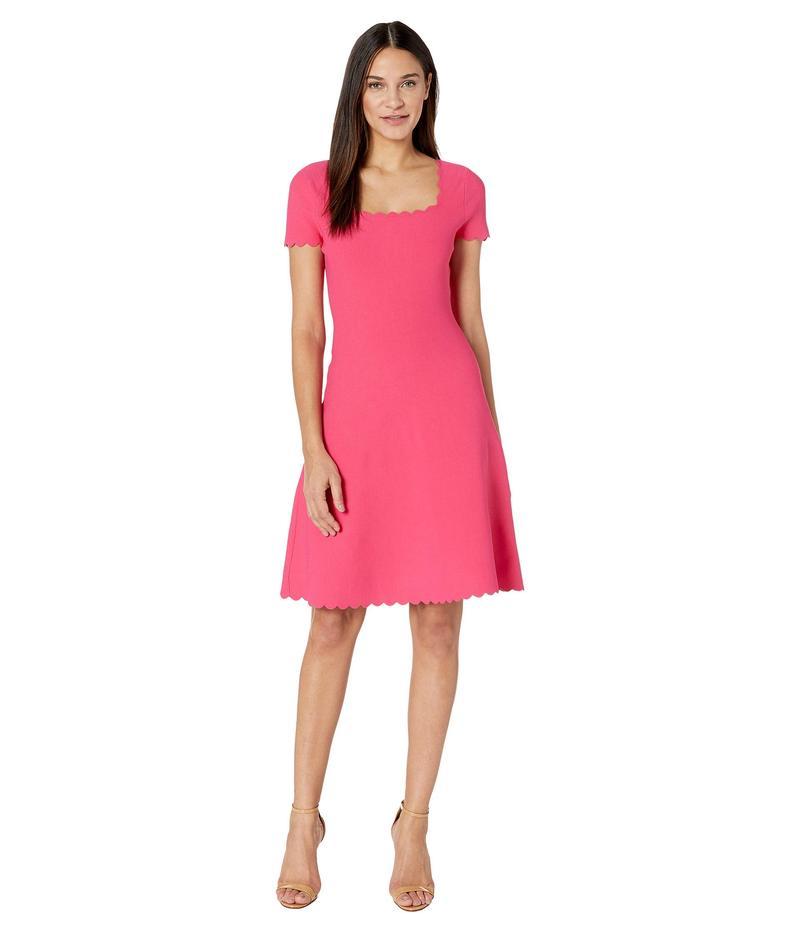 ミリー レディース ワンピース トップス Scallop Dress Guava