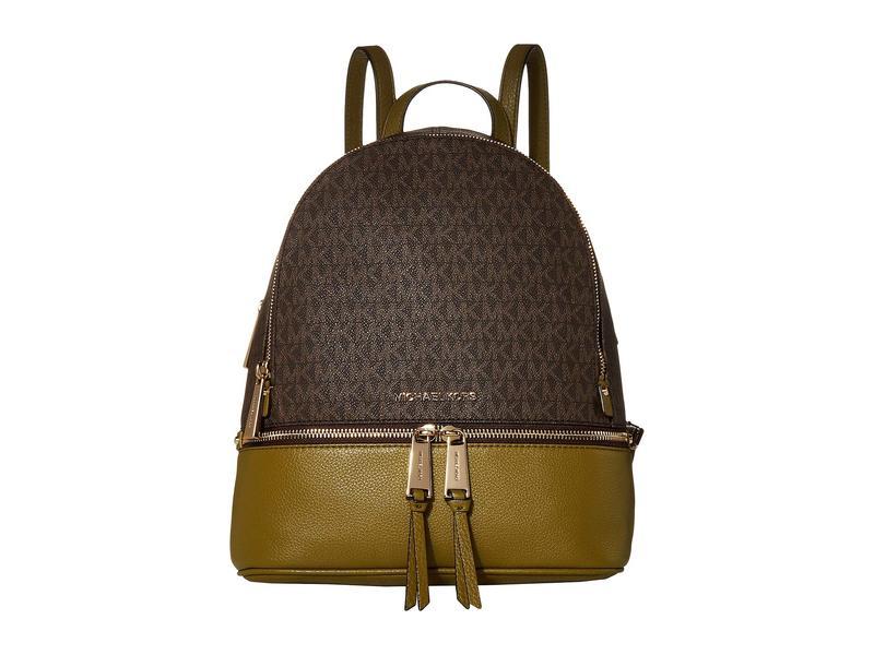 マイケルコース レディース バックパック・リュックサック バッグ Rhea Zip Medium Backpack Pistachio