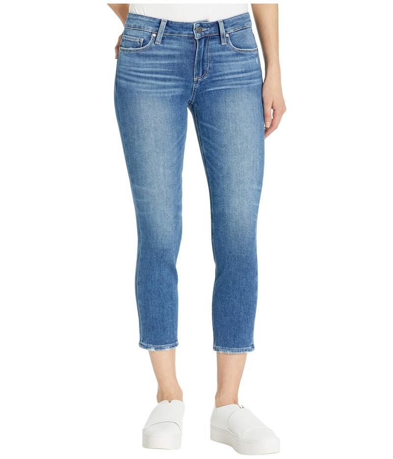 ペイジ レディース デニムパンツ ボトムス Skyline Skinny Crop Jeans in Summit Distressed Summit Distressed
