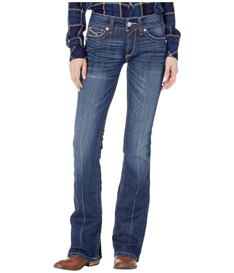 アリアト レディース デニムパンツ ボトムス R.E.A.L.¢ Bootcut Firebird Jeans in Pacific Pacific