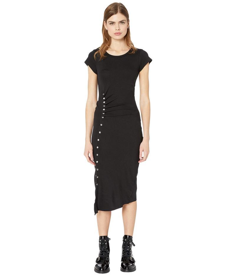 オールセインツ レディース ワンピース トップス Hatti Tee Dress Black