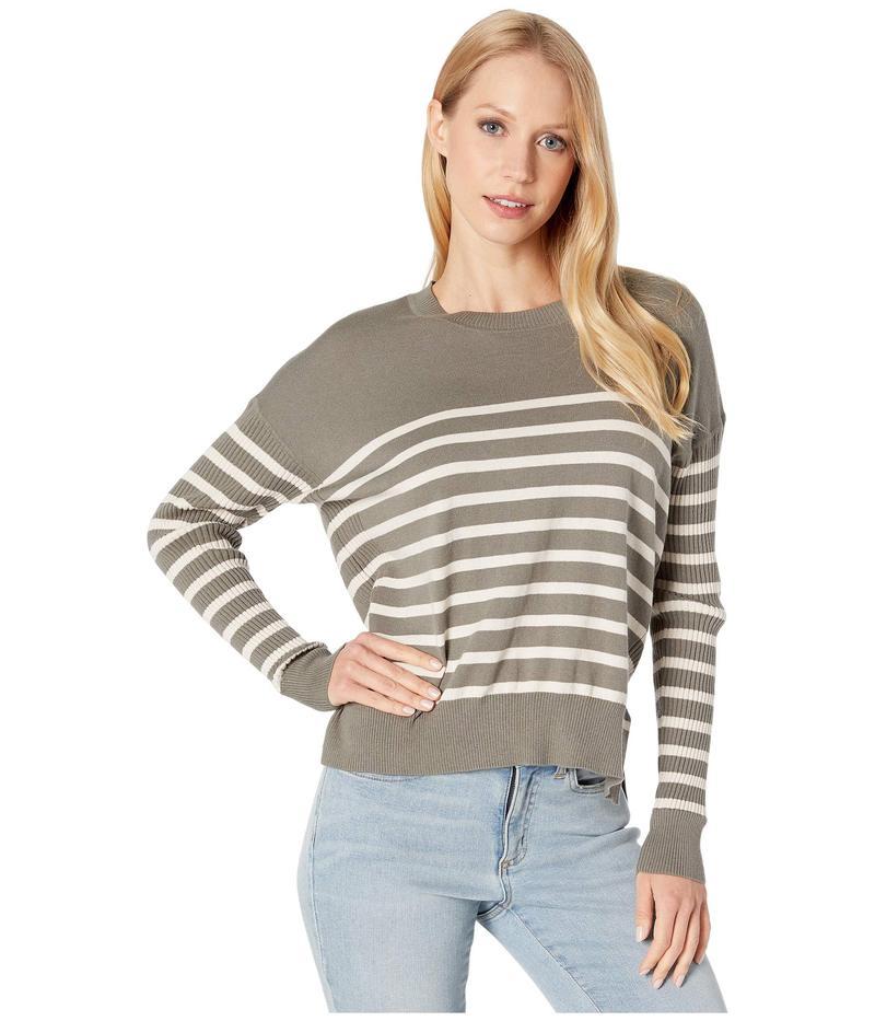 スプレンディット レディース ニット・セーター アウター Bonfire Ribbed Pullover Sweater Vintage Olive Branch/Canvas