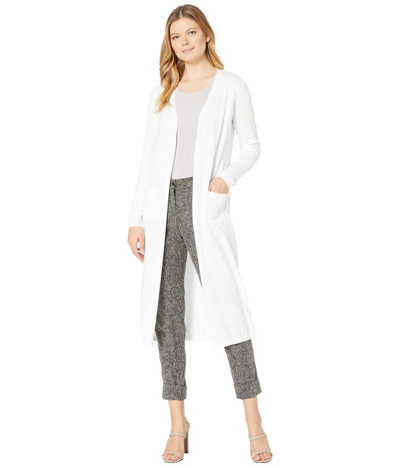 送料無料 サイズ交換無料 トリバル レディース 40%OFFの激安セール 美品 アウター ニット Sweater Long Sleeve セーター White Cardigan