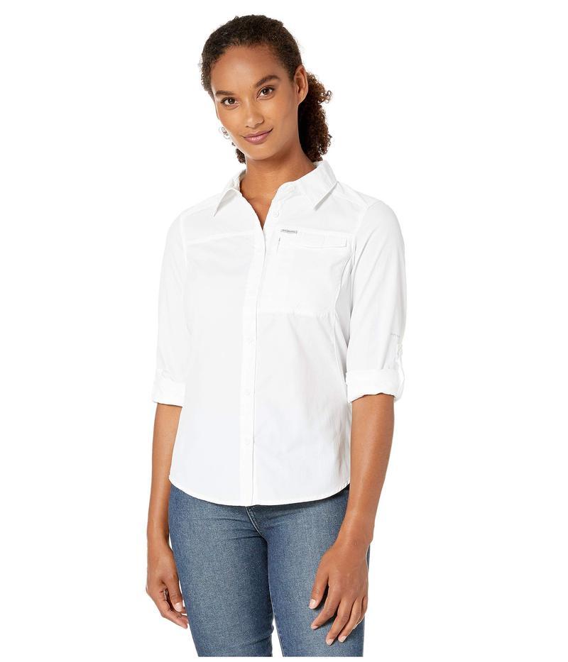 コロンビア レディース シャツ トップス Silver Ridge¢ 2.0 Long Sleeve Shirt White