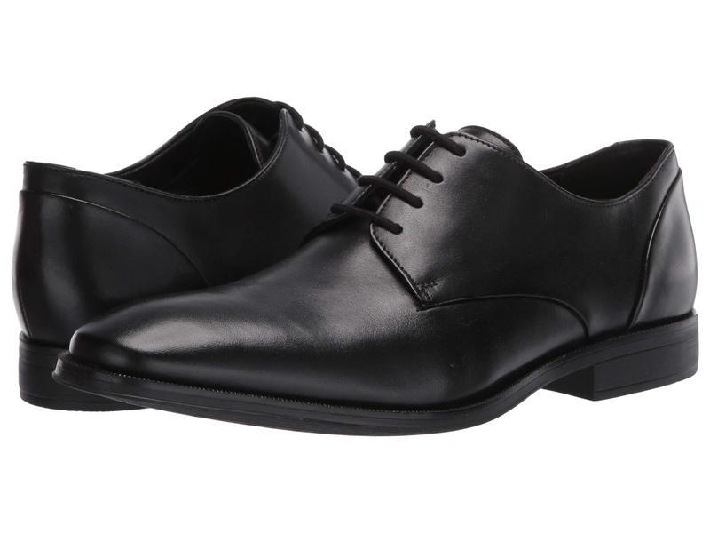 クラークス メンズ オックスフォード シューズ Gilman Plain Black Leather