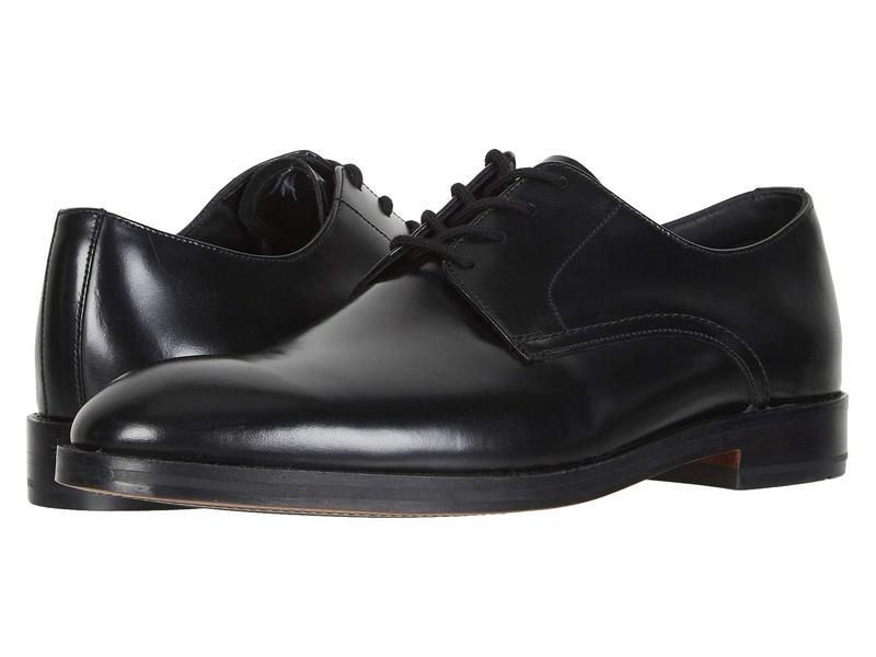 クラークス メンズ オックスフォード シューズ Oliver Lace Black Leather