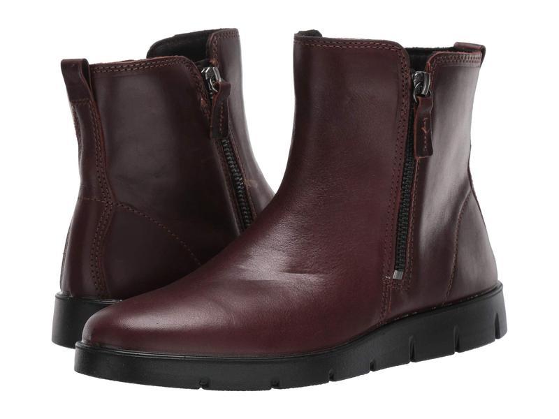 エコー レディース ブーツ・レインブーツ シューズ Bella Zip Boot Mink Cow Leather