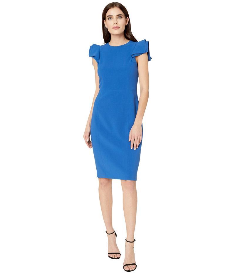 ホルストンヘリテイジ レディース ワンピース トップス Slim Fit Dress Cobalt