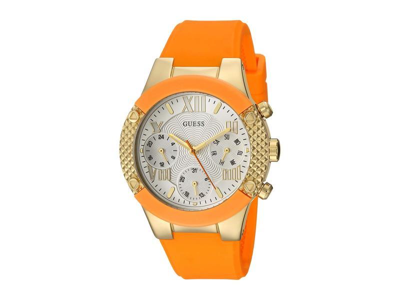 ゲス レディース 腕時計 アクセサリー U0958L1 Gold/Orange