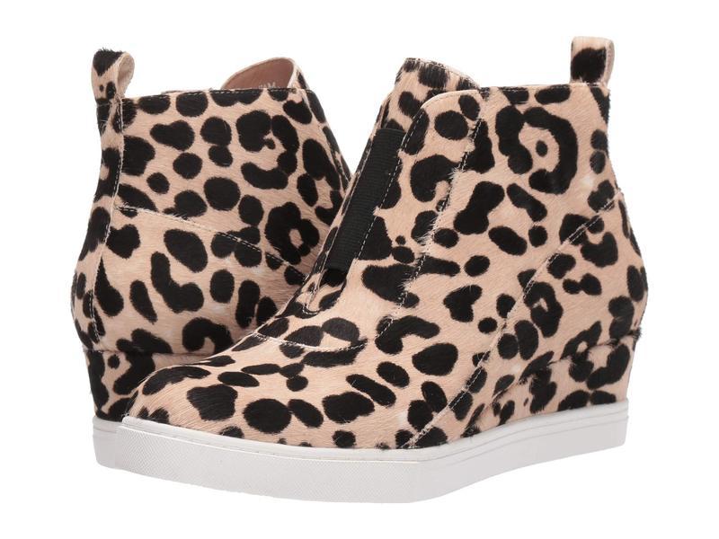 リネアパウロ レディース スニーカー シューズ Anna 3 White/Black Leopard Print Haircalf