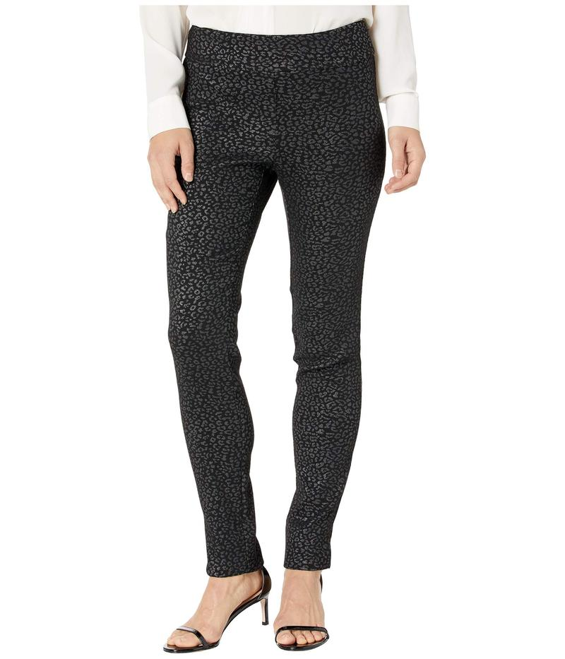 クレイジーラリー レディース カジュアルパンツ ボトムス Lurex Cheetah Print Pull-On Pants Silver