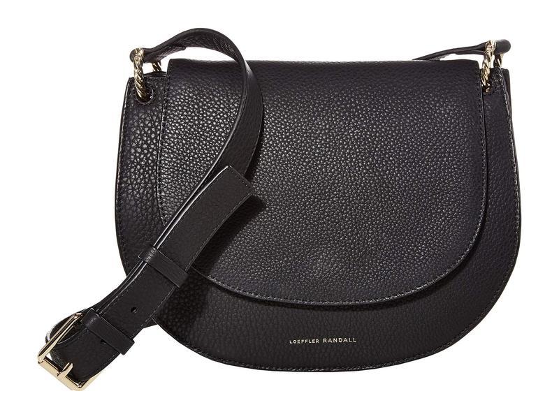 ロフラー ランダル レディース ハンドバッグ バッグ Cecil Leather Saddle Bag Black 2