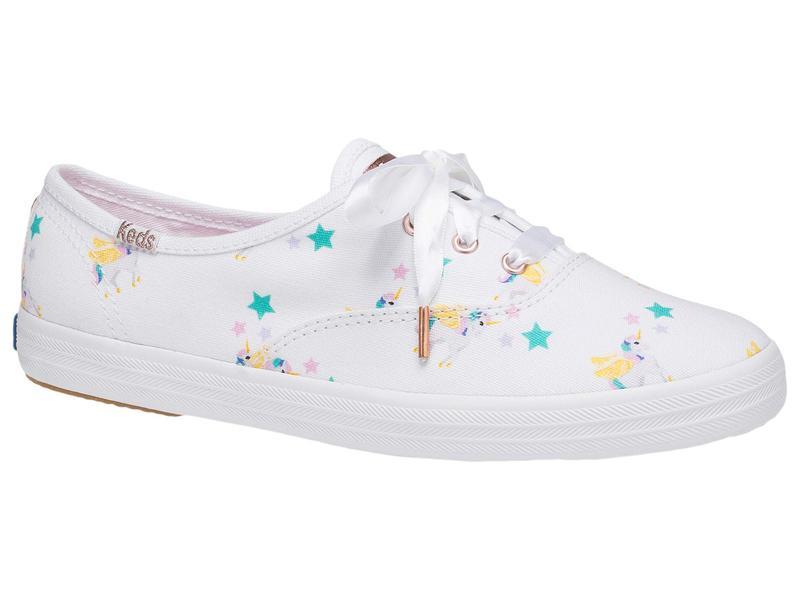 ケッズ レディース スニーカー シューズ Keds X Sunnylife Champion Unicorn Sneaker White