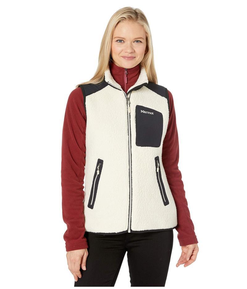 マーモット レディース コート アウター Wiley Vest Cream/Black