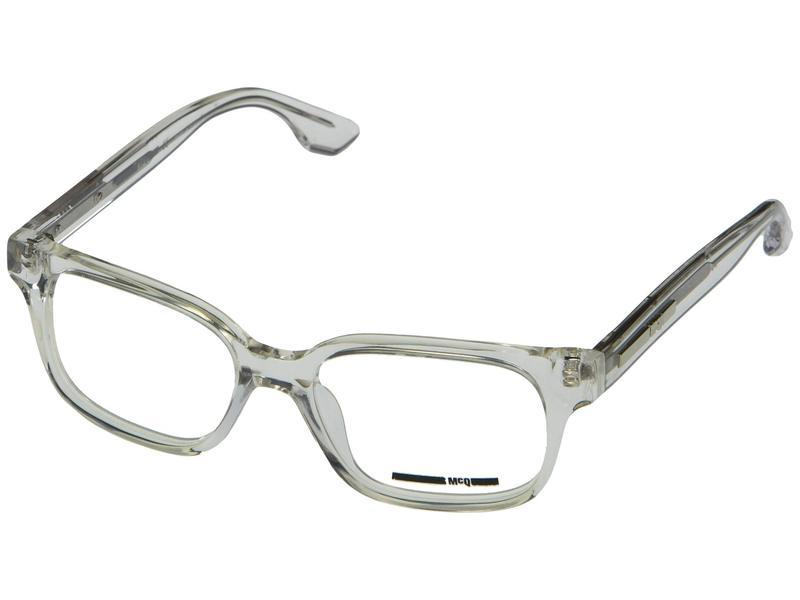 アレキサンダー・マックイーン メンズ サングラス・アイウェア アクセサリー MQ0031O Crystal/Crystal/Transparent