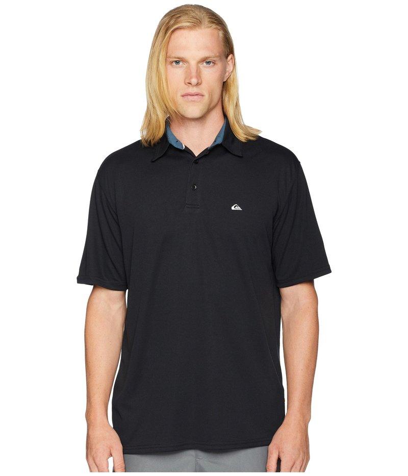 クイックシルバー ウォーター マン メンズ シャツ トップス Water Polo 2 Black