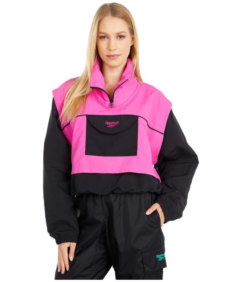 リーボック レディース コート アウター Festival Cover-Up Jacket Dynamic Pink