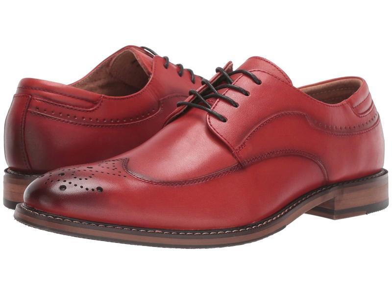 ステイシーアダムス メンズ オックスフォード シューズ Fletcher Wing Tip Oxford Cranberry