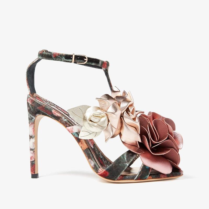 ソフィアウェブスター レディース ヒール シューズ Jumbo Lilico Sandal Dark Rose Metallic