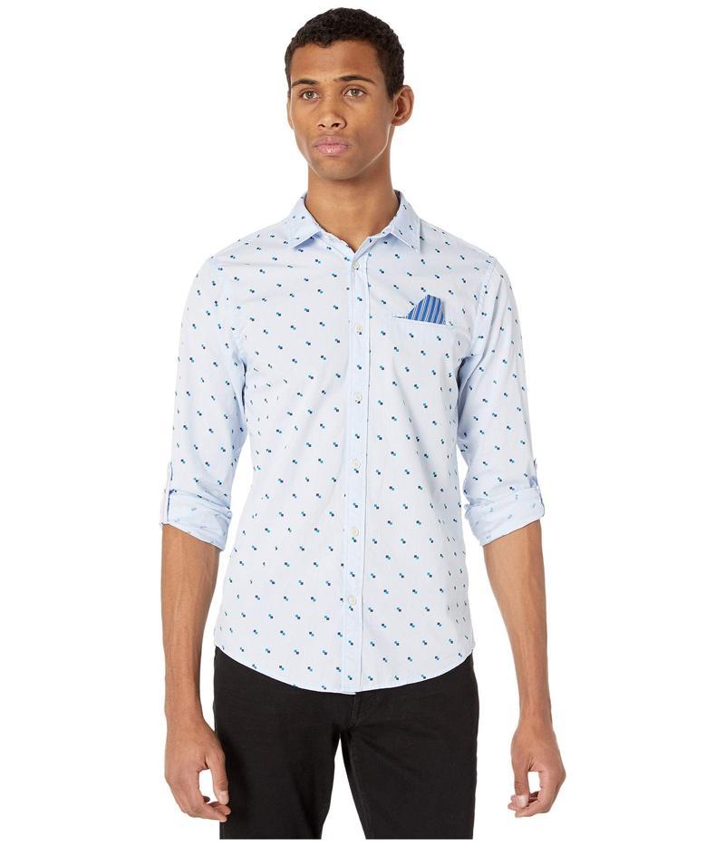 スコッチアンドソーダ メンズ シャツ トップス Regular Fit - Classic Pocket Shirt with Roll-Up Sleeve Combo A