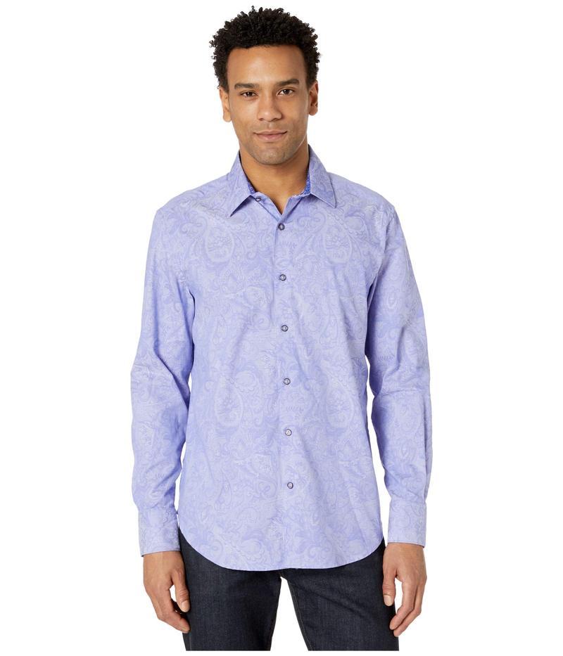 ロバートグラハム メンズ シャツ トップス Andretti Button-Up Shirt Purple