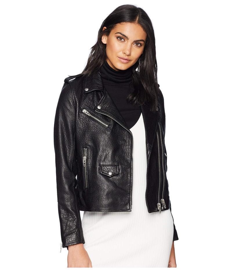 ブランクニューヨーク レディース コート アウター Genuine Leather Moto Jacket in Vice Lord Vice Lord