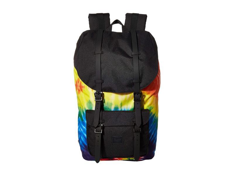 ハーシェルサプライ メンズ バックパック・リュックサック バッグ Little America Rainbow Tie-Dye