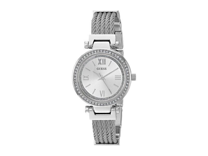ゲス レディース 腕時計 アクセサリー U1009L1 Silver