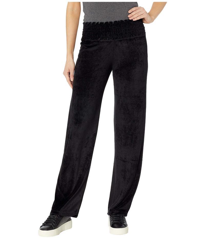 ハードテイル レディース カジュアルパンツ ボトムス Smocked Waist Pants Black