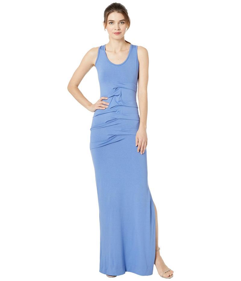ニコルミラー レディース ワンピース トップス Simple Maxi Dress Harbor Blue