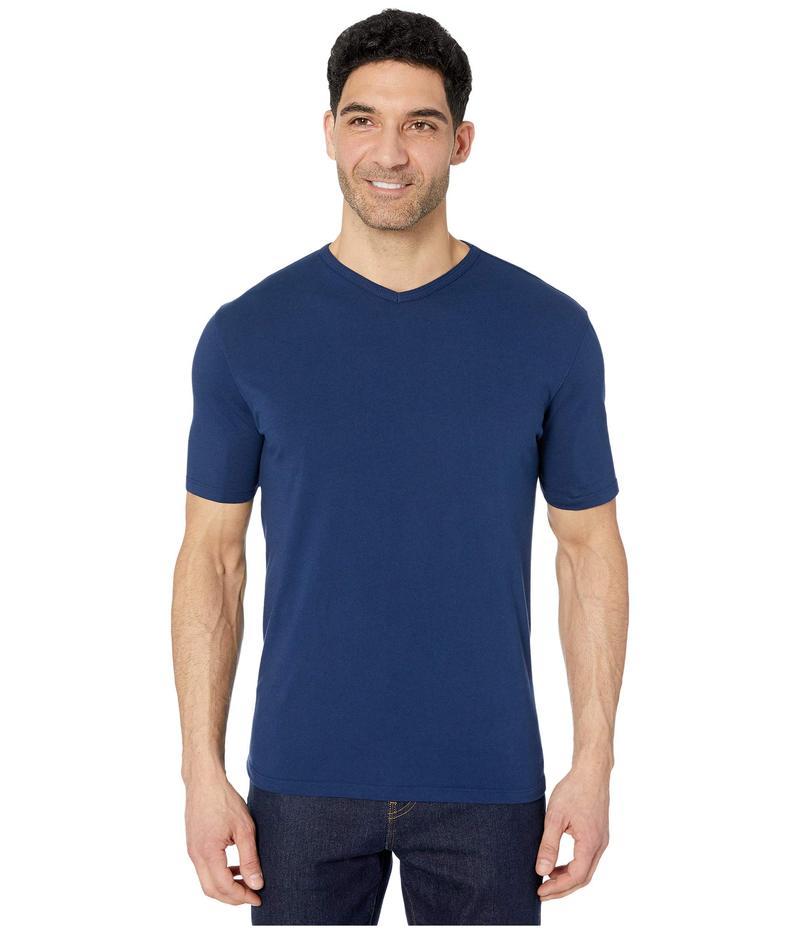モッドドック メンズ シャツ トップス San Diego Short Sleeve V-Neck True Navy