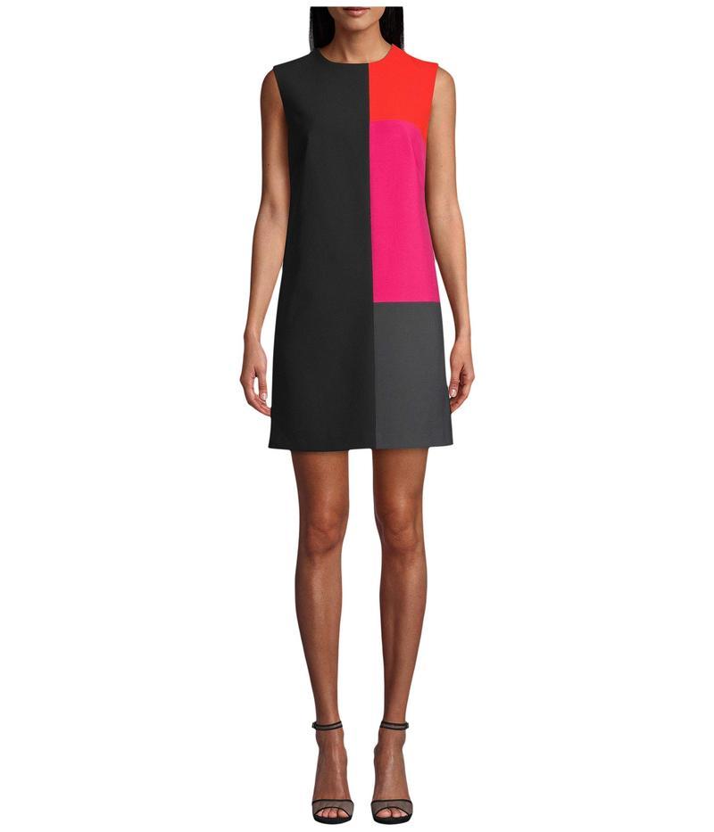 ニコルミラー レディース ワンピース トップス Stretchy Tech Color-Block Dress Multi