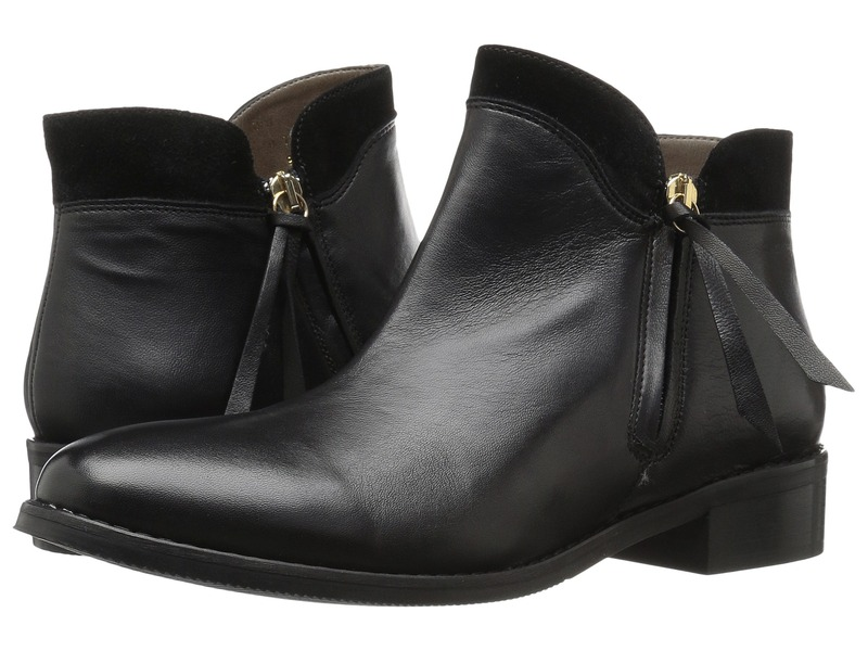 ベラビタ レディース ブーツ・レインブーツ シューズ Dot-Italy Black Italian Leather/Suede