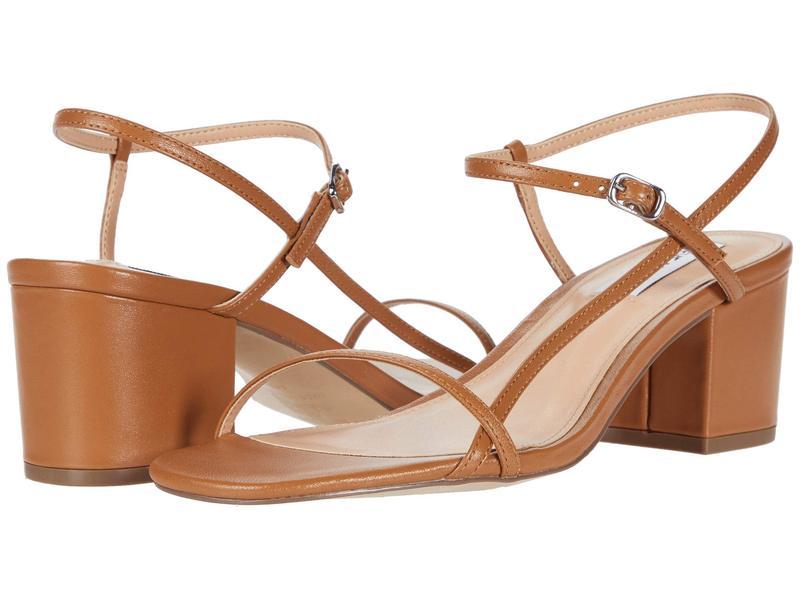 スティーブ マデン レディース ヒール シューズ Idea Heeled Sandals Camel Leather