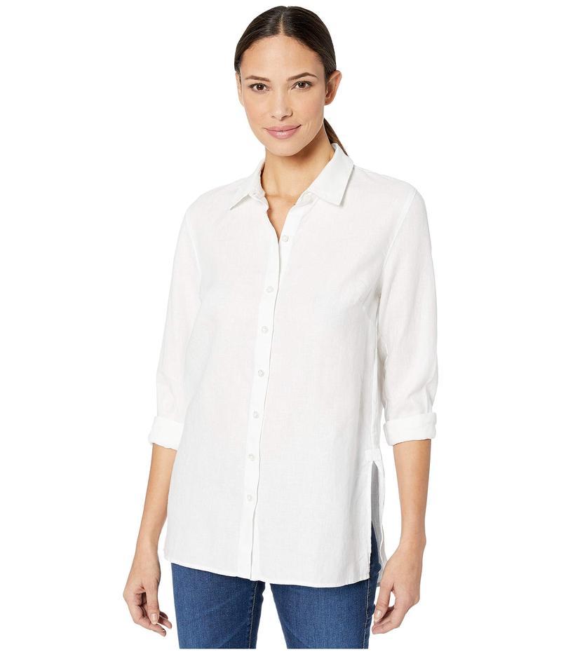 トッミーバハマ レディース シャツ トップス Coastalina Long Sleeve Shirt White